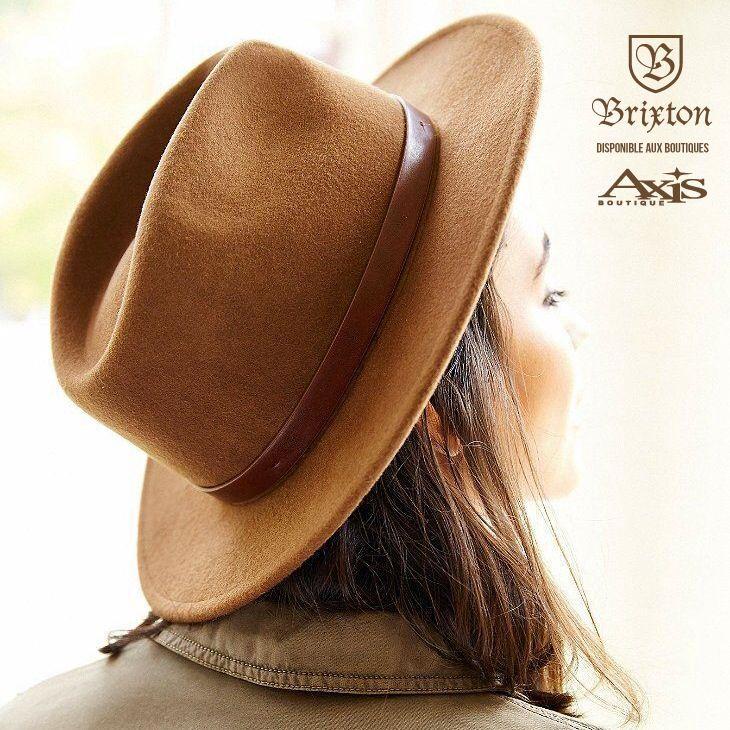 Le nouveau chapeau Messer Fedora Hat est désormais disponible dans les boutiques AXIS ainsi que sur shop.axisboutique.ca