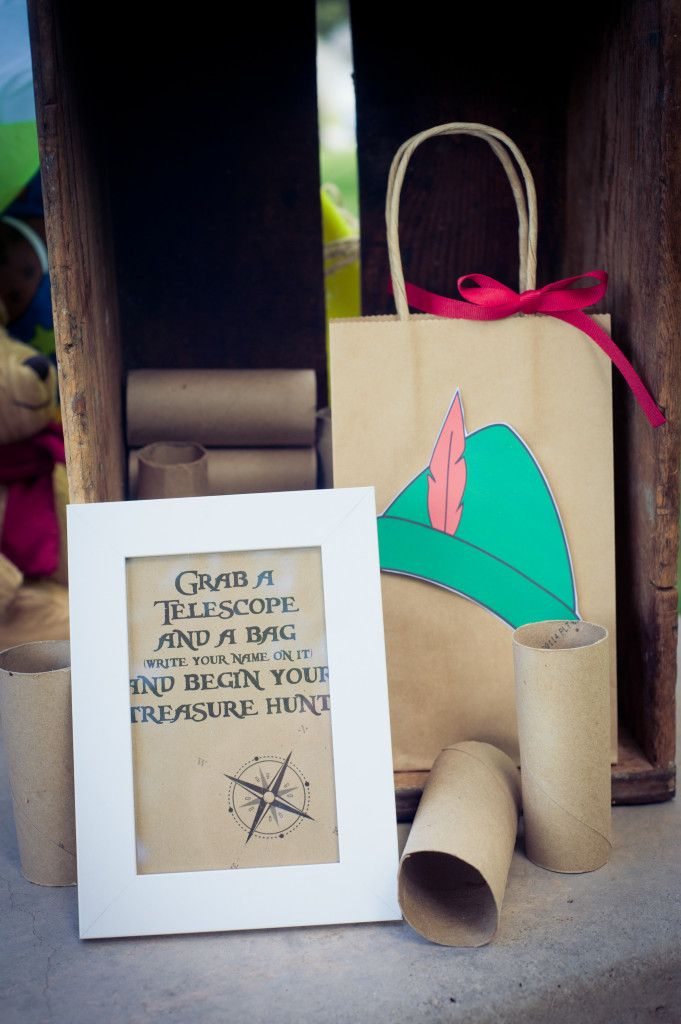 Peter Pan Neverland Birthday Party Party Games, Activities & Favors - Treasure Hunt   Marigold Mom