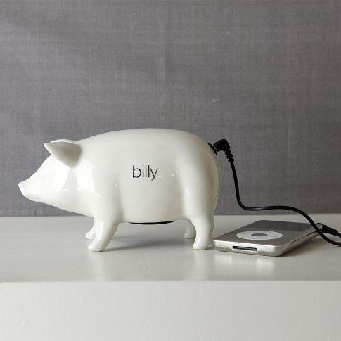 Ceramic Pig Speaker | west elm