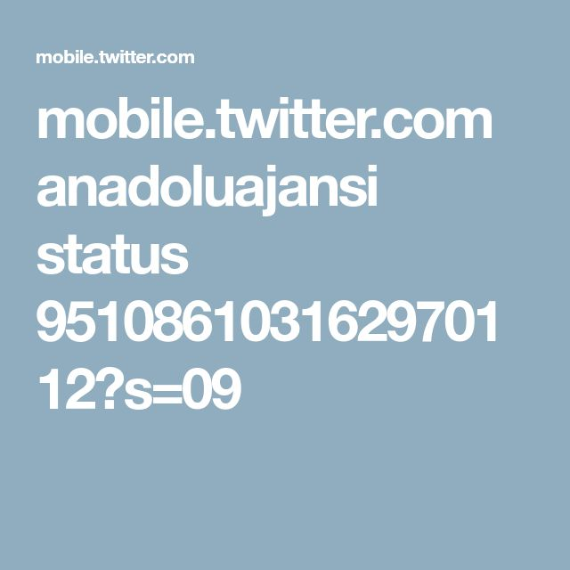 mobile.twitter.com anadoluajansi status 951086103162970112?s=09