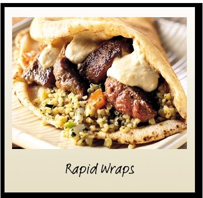 Rapid Wraps Recipe