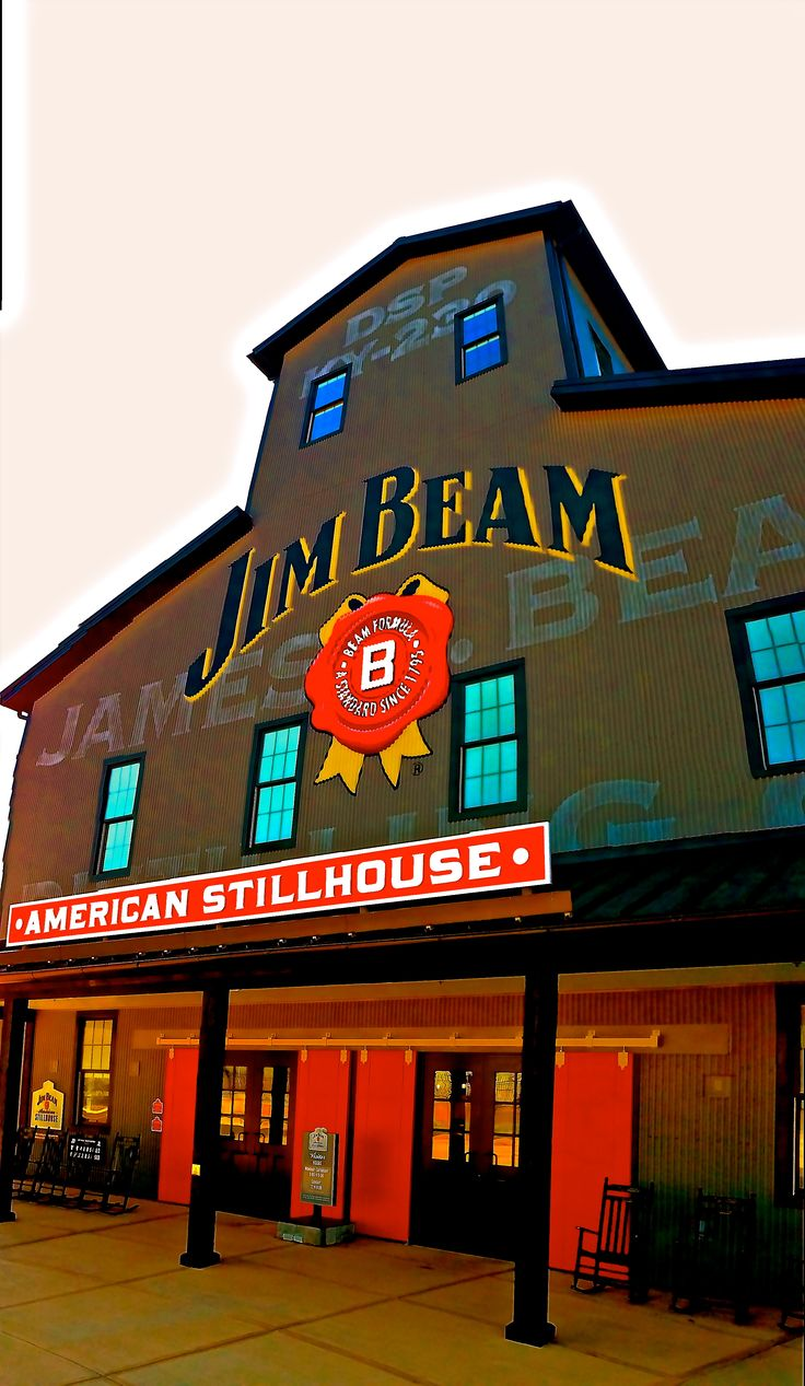 Jim Beam American Stillhouse - Clermont, #Kentucky -  #bourbon #distillerytour