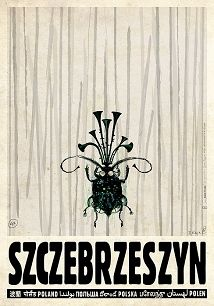 Szczebrzeszyn, polski plakat turystyczny