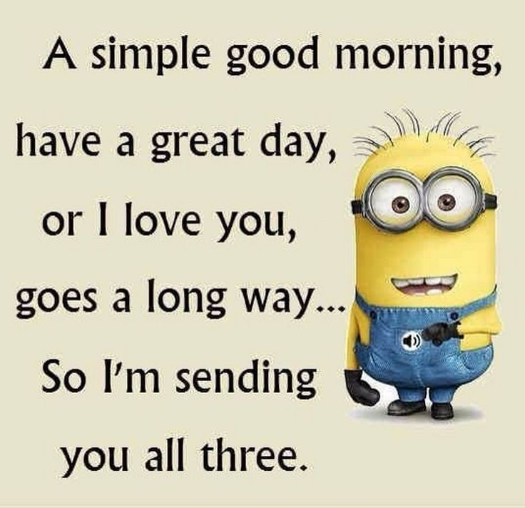 Minion I Love You Quotes Funny: Facetious Minions Images With Quotes (11:34:39 AM, Monday