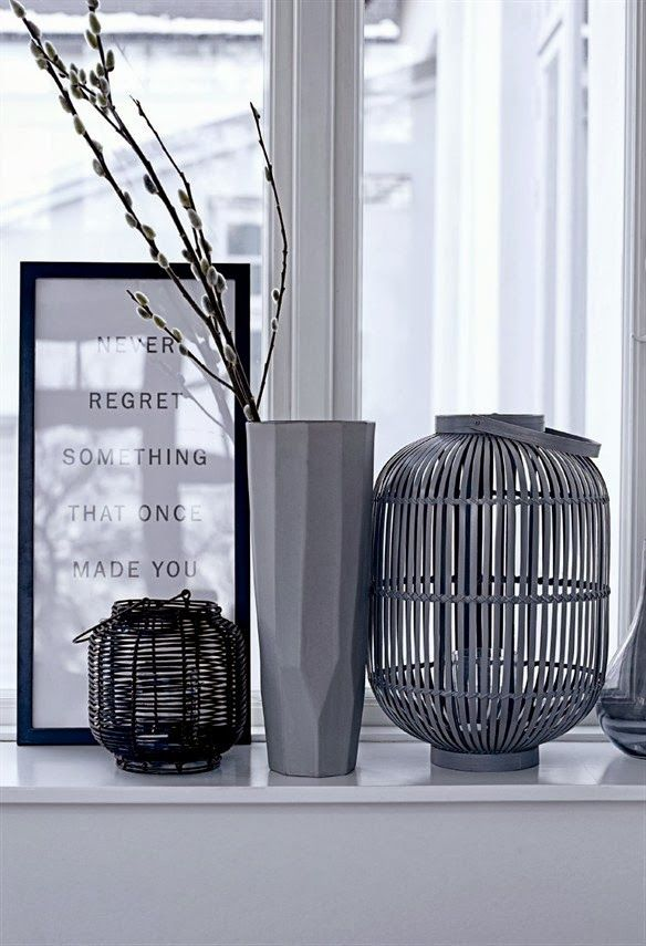 Bloomingville f/w 2013 . Home Decor . Interior Design Inspiration . Decoration . Detail . Black and White .