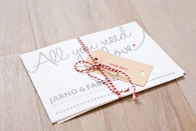 Maak je eigen trouwkaart voor een persoonlijke touch!