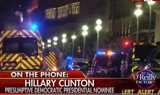 """Hillary Clinton's Answer to Nice, France Terror Attack: We Need to Launch an """"Intelligence Surge""""…(Huh?)  Jim Hoft Jul 15th, 2016"""