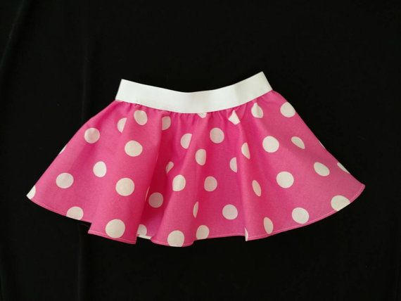 Minnie Mouse outfit Minnie Mouse Skirt Pink by FrederickFancies