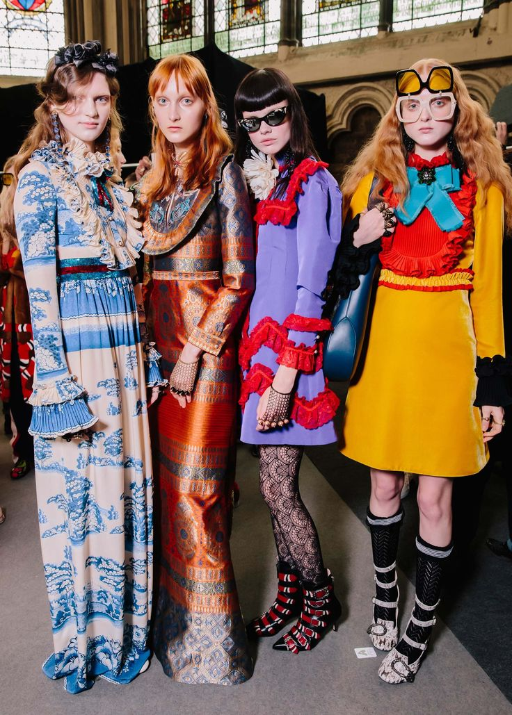 The Best Behind-the-Scenes Pics from Gucci's Resort Show - Vogue