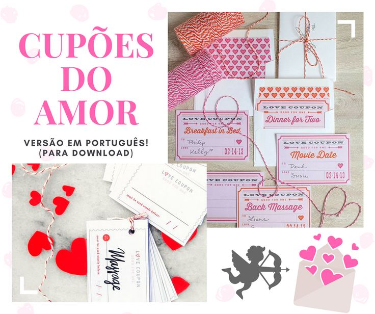 Cupões do Amor (versão em português para download) | So Sweet, So Pink