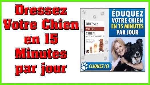 Télécharger dresser son chien en 15 minutes par jour pdf gratuit