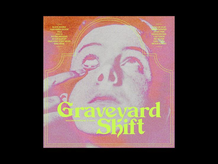 - a9071109e8b9e1c309b016ba10458fc3 - Halloween Mixtape No. 7: Graveyard Shift designed by Chandler Reed. Connect with them on Dribbble; the global community…