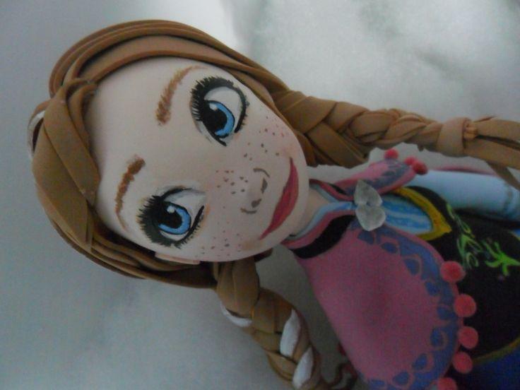 fofuchas princesas Anna