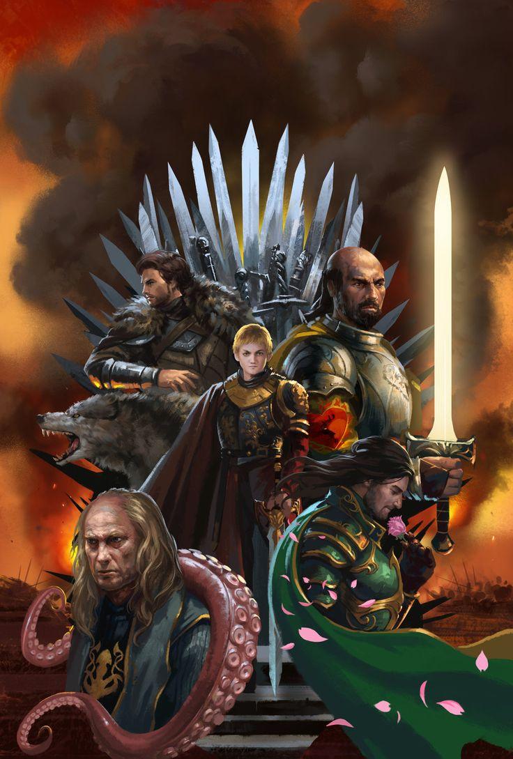 The War of Five King by zippo514.deviantart.com on @DeviantArt