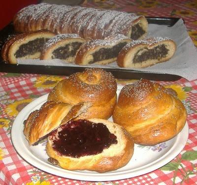 moje záľuby... : Makový koláč a briošky