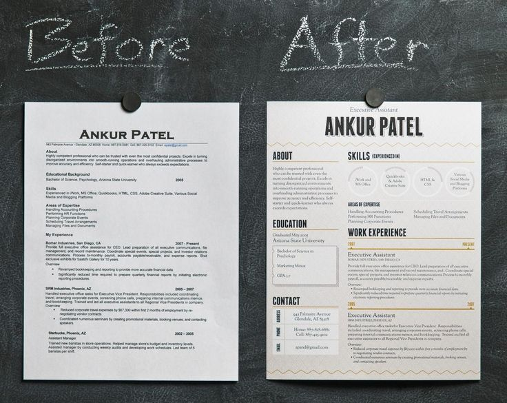 22 best Creative Resumes images on Pinterest Creative resume - visually appealing resume