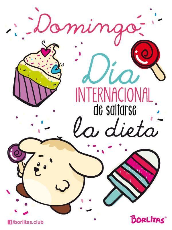 domingo! dia internacional de saltarse la dieta