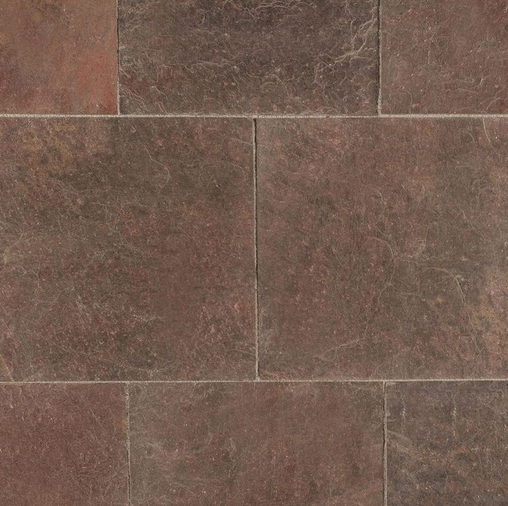 "Slate Tiles - GSA Collection - Copper Quartzite / 16""x16""x3/8""-1/2"""