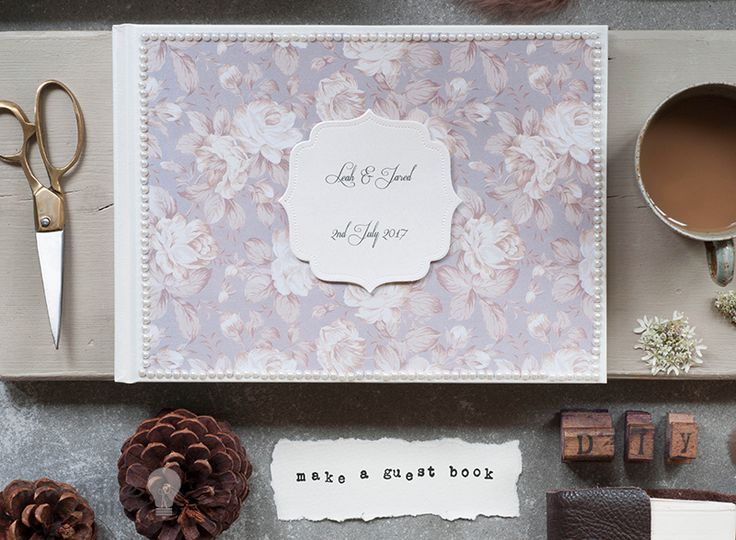 33 best Wedding Guest Books, Photo Albums and Journals images on ...