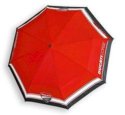 Składana parasolka Ducati - cena i opinie na www.Motocyklowy.pl #gadgety #gadzety_motocyklowe #parasole