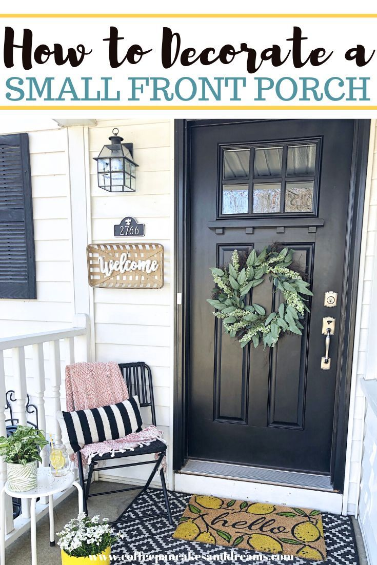 Small Front Porch Decor: 26 Budget Friendly Decorating Ideas