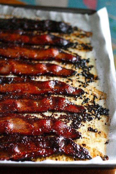 Coffee and Red Chili Pepper Bacon