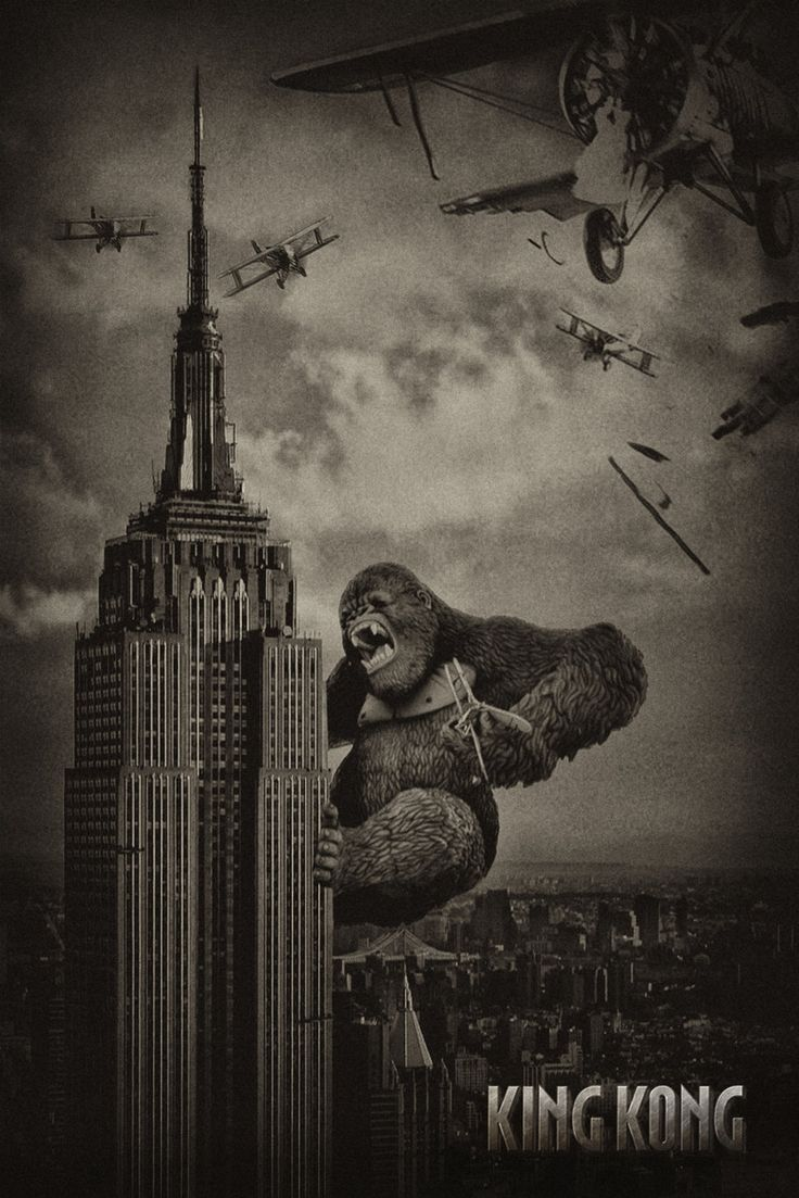 KING KONG - the most memorable scene - last stand by ~tomzj1 on deviantART