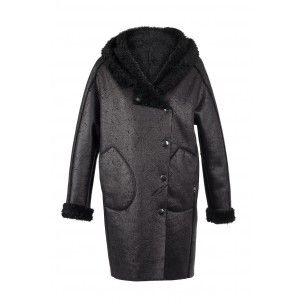 """Manteau Cop copine neuve et étiquetée modèle """"ALF"""" - collection automne/hiver 2013-2014 tailles 38 et 40 coloris noir"""