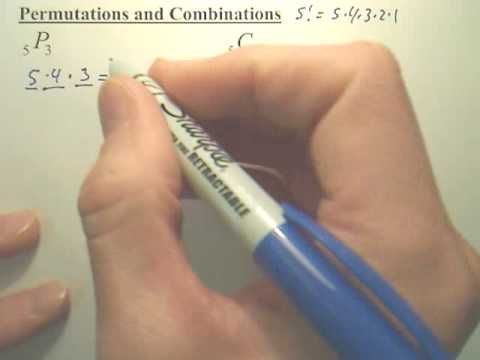 Quick ways of doing Permutations and Combinations