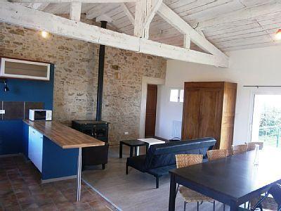 Une des chambres du Village de gîtes à vendre à Saint-Viaud en Loire-Atlantique
