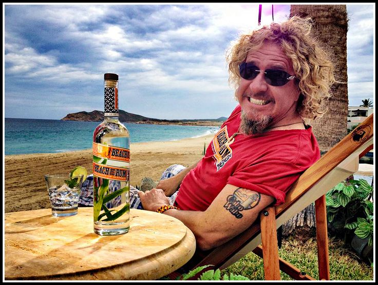 Sammy Hagar. I wanna have margaritas with this guy!