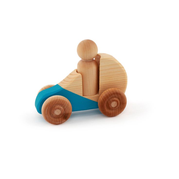 Wooden Toy Car by From the Seeds