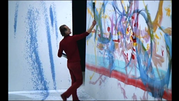 Georges Mathieu and Vangelis: painting & improvising
