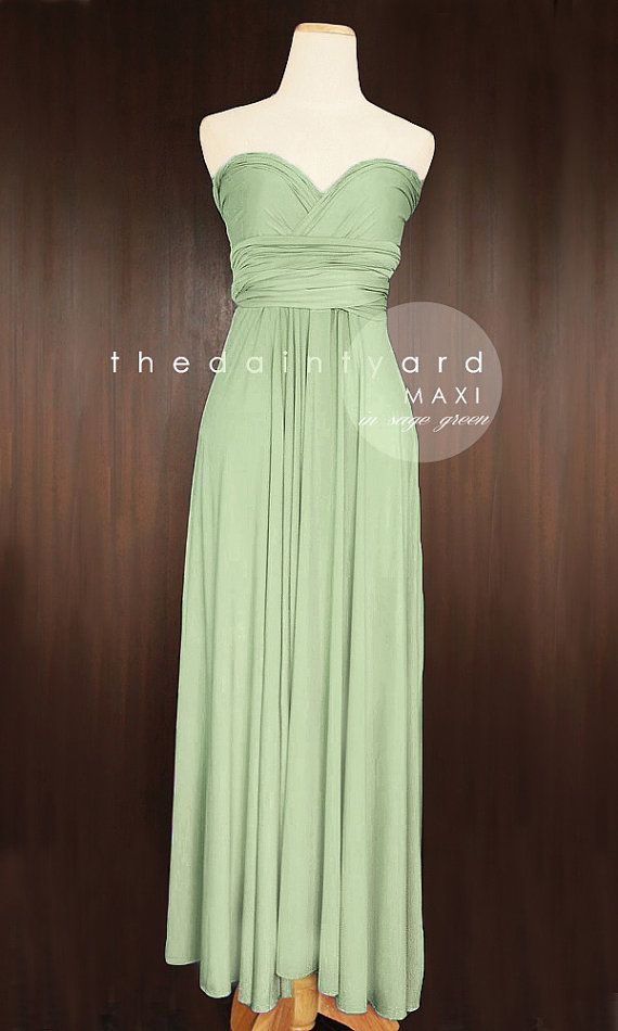 Bridesmaids will be in a shorter version of this color dress.