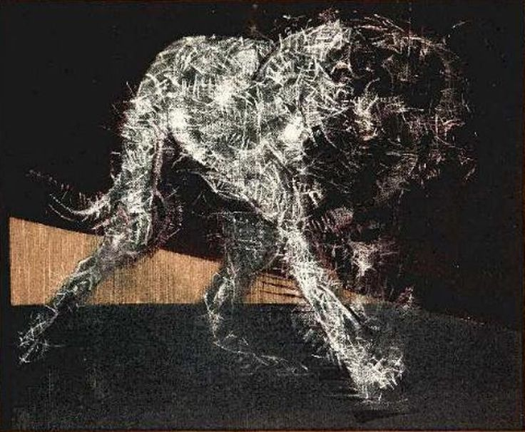 Francis Bacon - Painting of a Dog - 1952