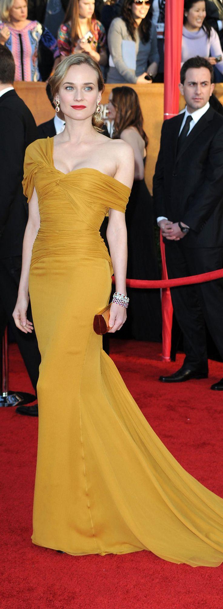 Diane Kruger in Jason Wu's dress at the 2010 SAG Awards