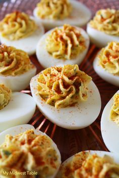 Best-Ever Deviled Eggs. Can't beat them on an Easter menu! A classic.