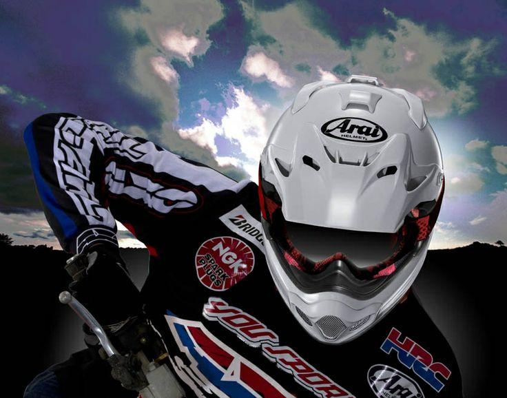 Fotos del casco Arai MX-V