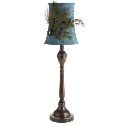 Peacock Feather Buffet Lamp For The Home Pinterest