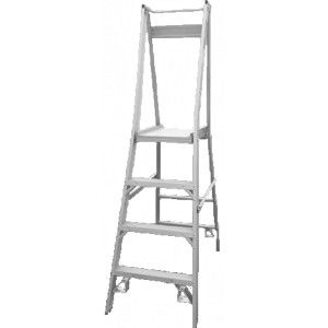 Indalex #Platform_Ladders - Aluminium - 150kg Load Capacity. The large work platform in our Indalex Platform Laddermeans easy and safe access to your working area. Some Indalex Platform Step Laddermodels come with a Paint can shelf with rag holder. The Indalex Platform Step Ladders arelightweight meaning it is easy transport.
