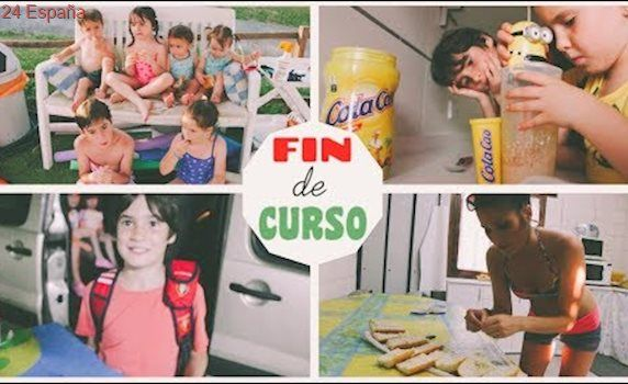 ÚLTIMO día de COLEGIO !!! Nos acompañáis + RECETA de HELADO + PISCINA / 24h VERDELISS