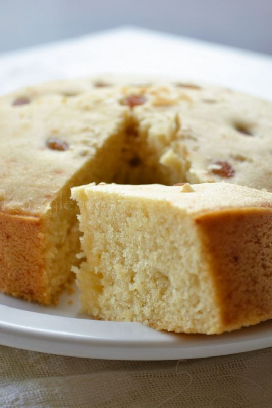 kurryleaves: Eggless Vanilla Cake |Pressure Cooker Vanilla Cake