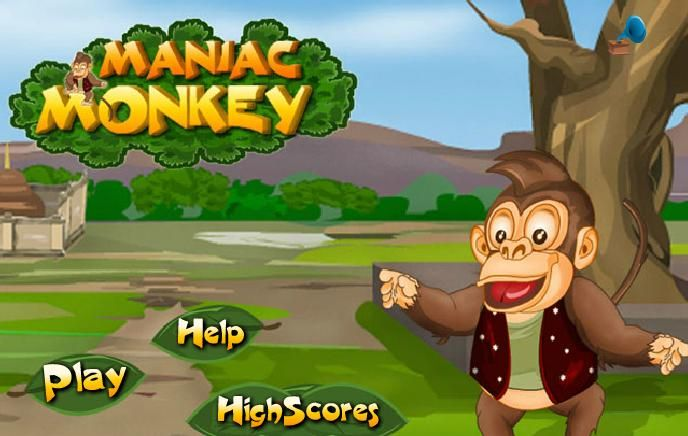 Mädchen Spiele Affe