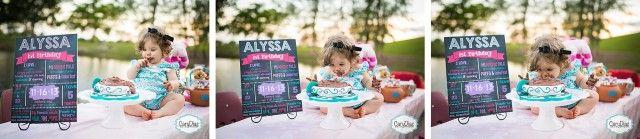 """Alyssa in """"One""""derland   Miami Children Photography"""