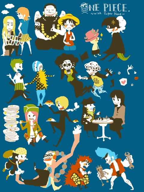One piece supernovas and strawhat pirates
