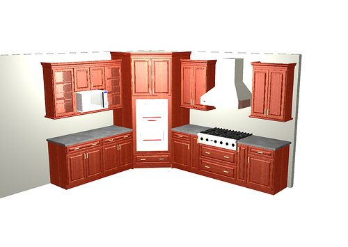 WIP corner double oven kitchen | Flickr - Photo Sharing!