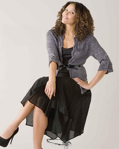 Soiree at Maxim's (Вечер у Максима) из Creative Knitting 2011-03 - Елена Антонова - Веб-альбомы Picasa
