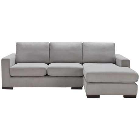 Freedom Signature Modular 2 Seat Left Hand & Chaise Right Hand | Freedom Furniture and Homewares