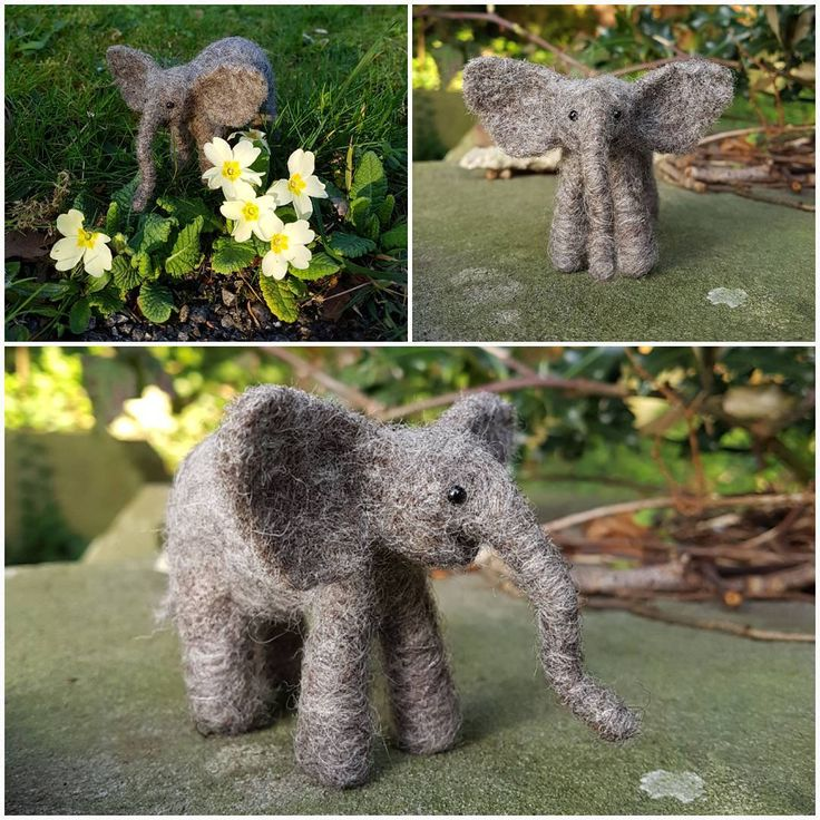 """32 Likes, 7 Comments - Happy Savage Studio (@happysavagestudio) on Instagram: """"Small baby elephant, commission. Elephants and other animals available on request. Please message…"""""""