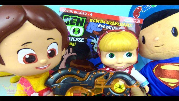 Maşa ve Koca ayı oyuncak bebek Niloya ve Pepee birlikte Ben Ten dergisi ...
